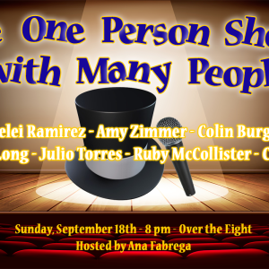 one person show many people